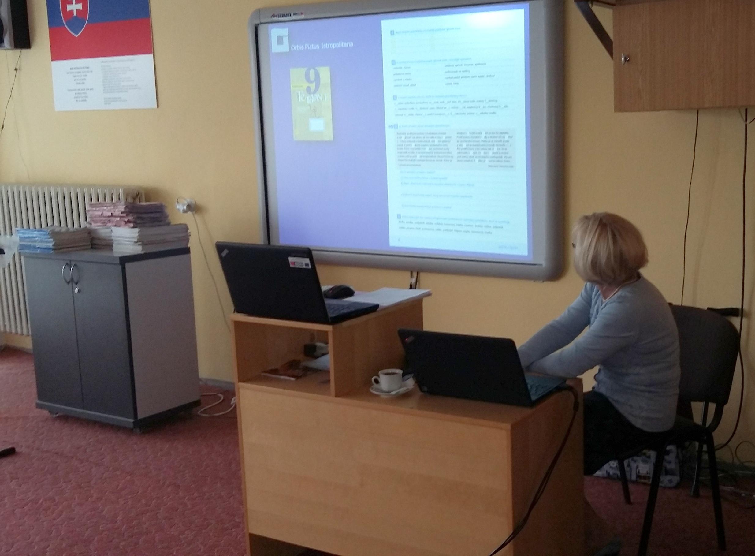 Začali Sa Semináre Z Matematiky, Slovenského Jazyka A Literatúry Pre II. Stupeň ZŠ