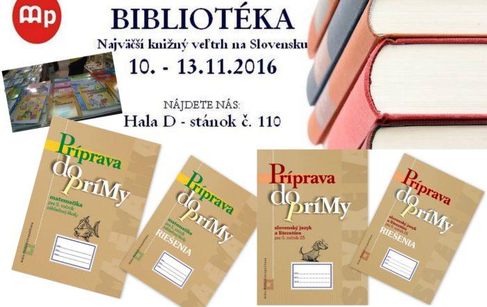 Bibliotéka 2016 a Orbis Pictus