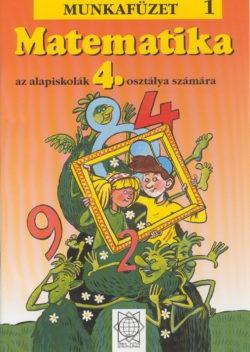 Matematika 4 Pracovný zošit 1.časť - maďarská