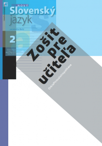 ZPU – Nový Slovenský jazyk pre SŠ 2. roč. – 1. časť