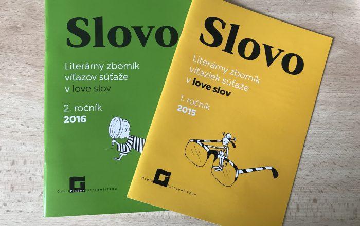 literárny zborník SLOVO 2015 a 2016