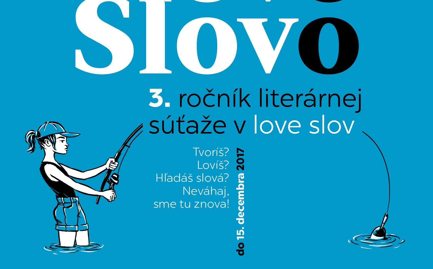 3. ročník literárnej súťaže SLOVO