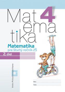 Matematika 4 - Pracovný zošit - 2. diel