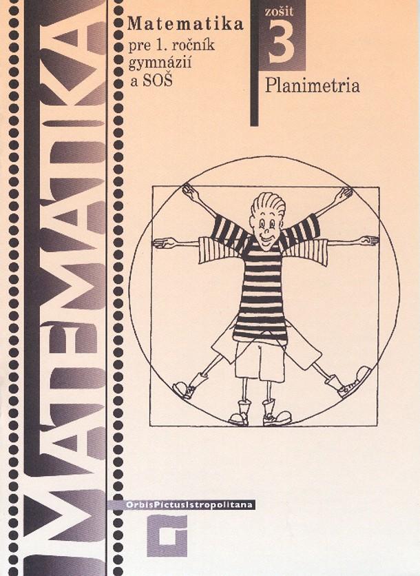 Náhľad: Matematika 1 / 3. zošit - Planimetria