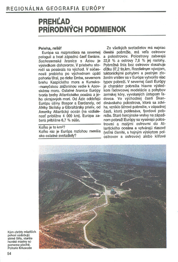 Náhľad: Geografia pre 2. ročník gymnázií - I. diel (4)