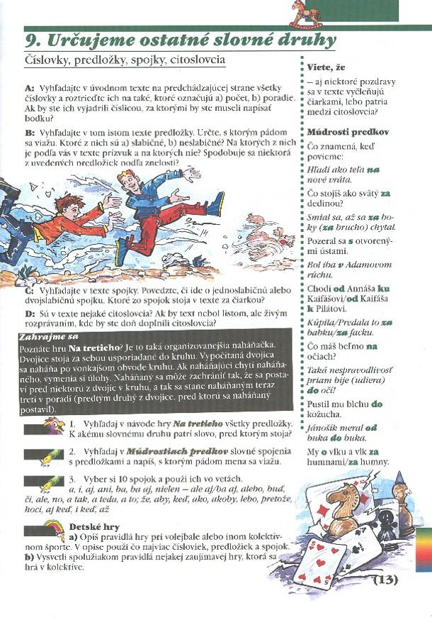 Náhľad: Slovenský jazyk 7 - I. diel (3)