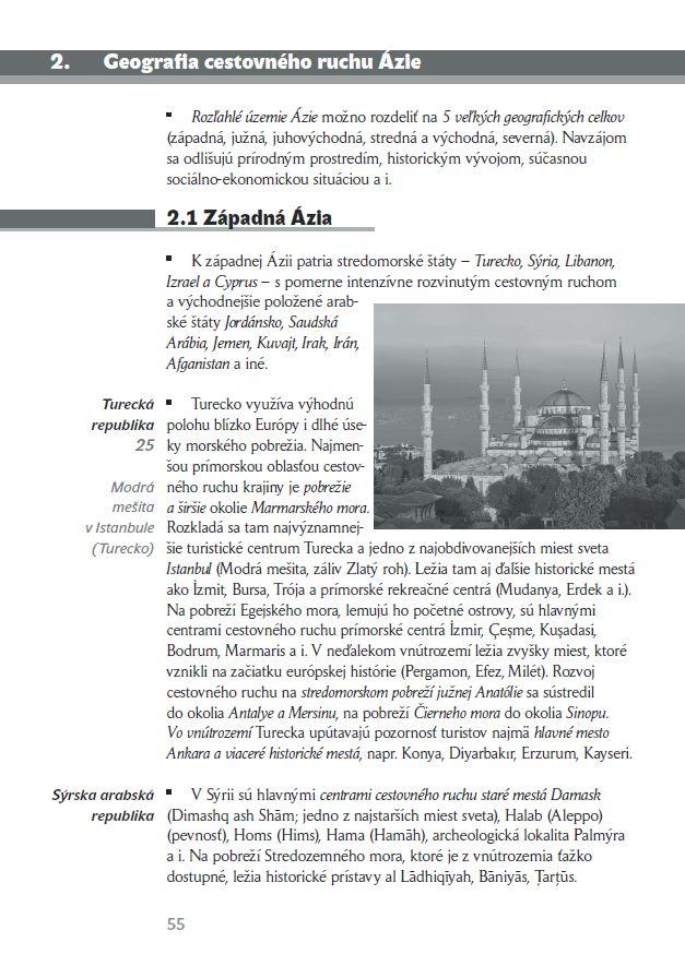 Náhľad: Geografia cestovného ruchu 4 - Učebnica (3)