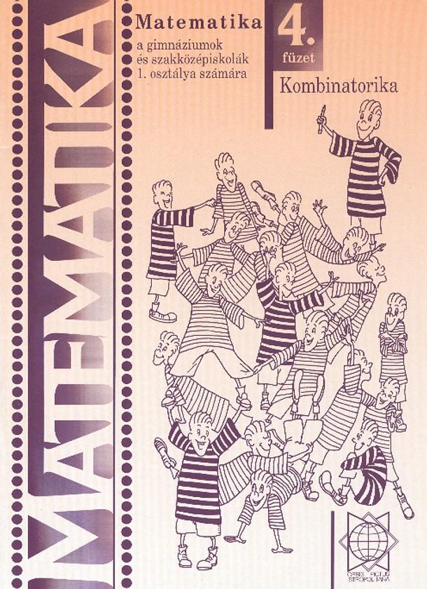 Náhľad: Matematika 1 / 4. zošit - Kombinatorika pre gymnázia a SOŠ - maďarská mutácia