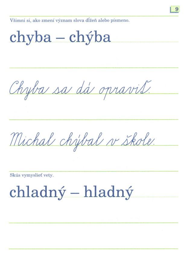 Náhľad: Písmenká - moji kamaráti (6 písaniek s predtlačou) (93)