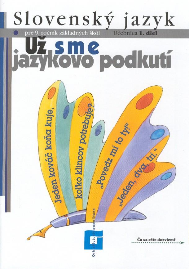 Náhľad: Slovenský jazyk 9 - 1. diel
