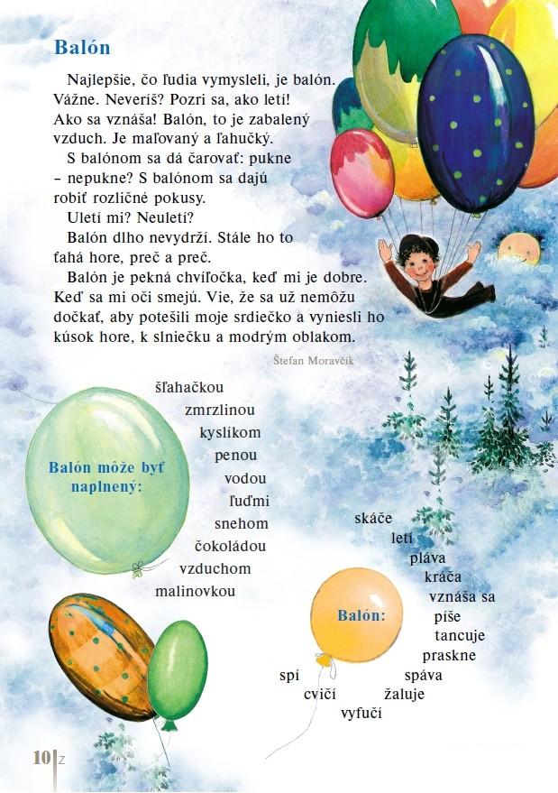 Náhľad: Čítanka pre 1. ročník (3)