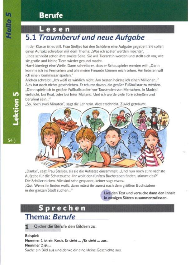 Náhľad: Hallo 5 - Učebnica (3)