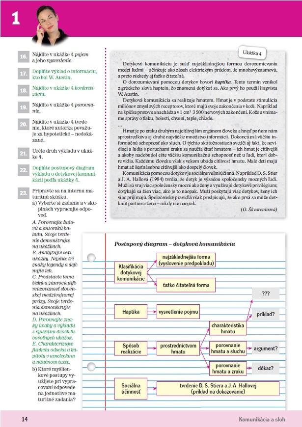 Náhľad: Slovenský jazyk 3 - Učebnica (3)