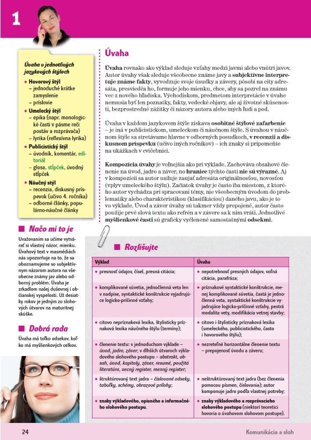 Náhľad: Slovenský jazyk 3 - Učebnica (4)