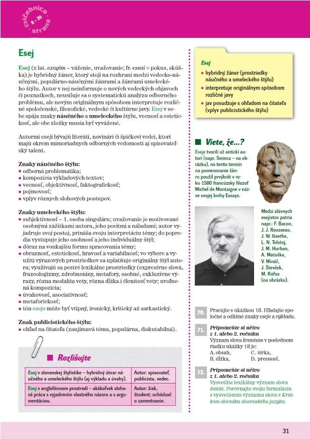 Náhľad: Slovenský jazyk 3 - Učebnica (5)
