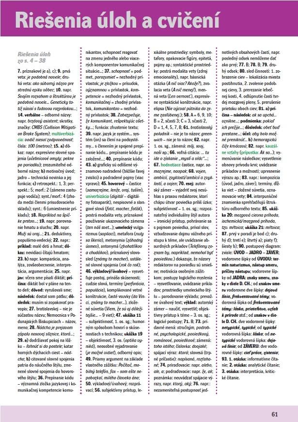 Náhľad: Slovenský jazyk 3 - Učebnica (8)