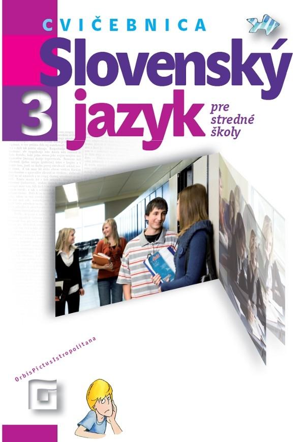 Náhľad: Slovenský jazyk 3 - Cvičebnica