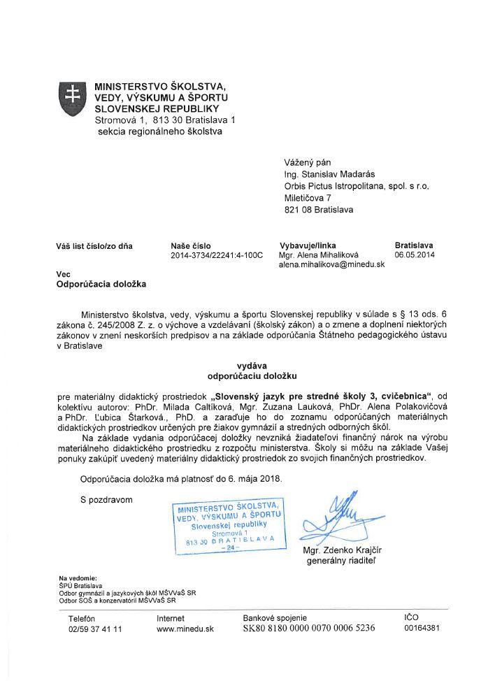 Náhľad: Slovenský jazyk 3 - Cvičebnica (10)