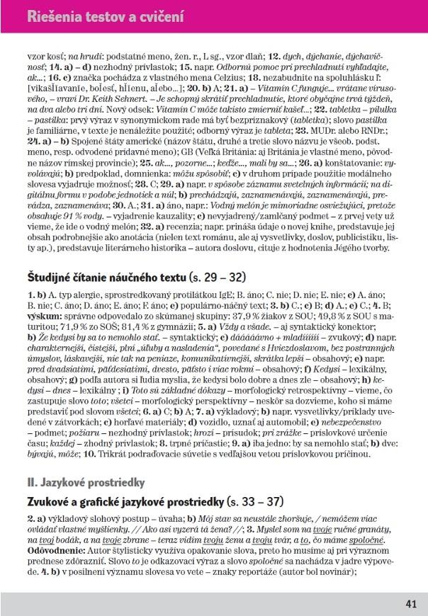 Náhľad: Slovenský jazyk 3 - Cvičebnica (7)