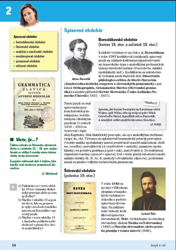 Náhľad: Slovenský jazyk 4 - Učebnica (10)