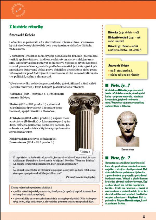 Náhľad: Slovenský jazyk 4 - Učebnica (4)