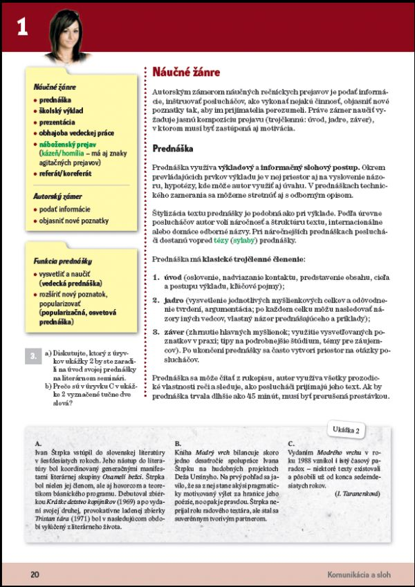 Náhľad: Slovenský jazyk 4 - Učebnica (5)