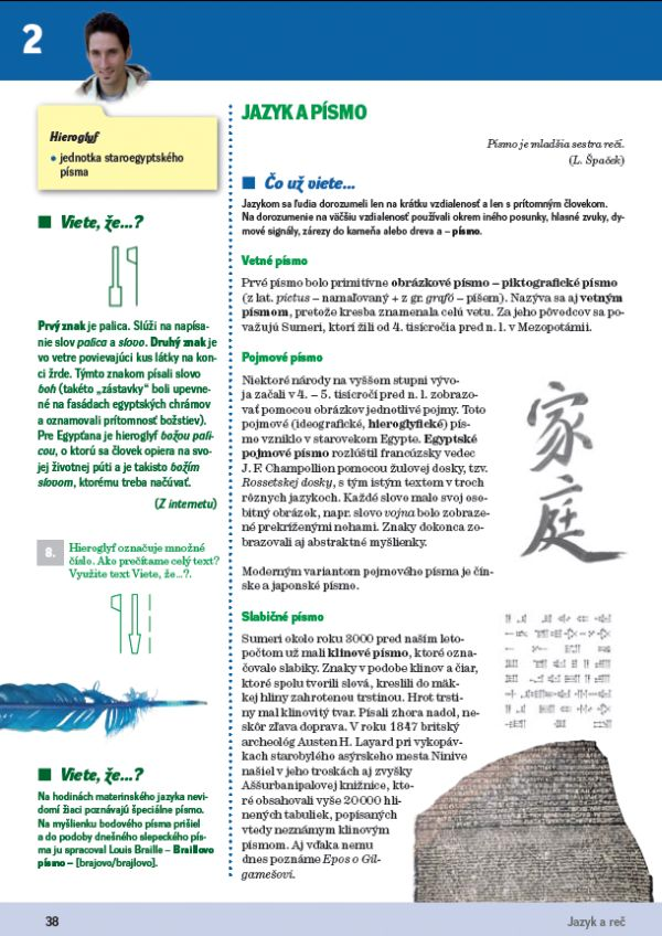 Náhľad: Slovenský jazyk 4 - Učebnica (7)