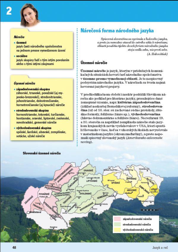 Náhľad: Slovenský jazyk 4 - Učebnica (9)