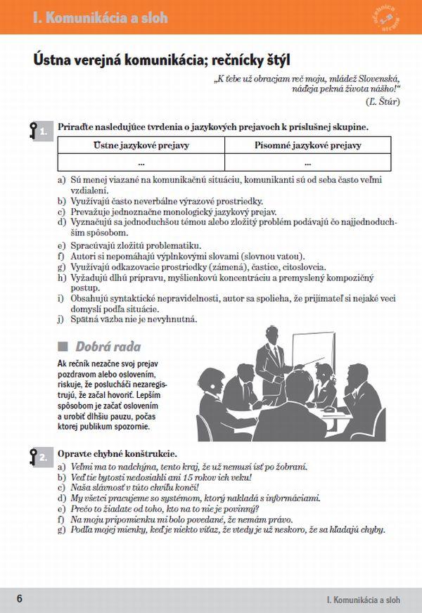 Náhľad: Slovenský jazyk 4 - Cvičebnica (3)