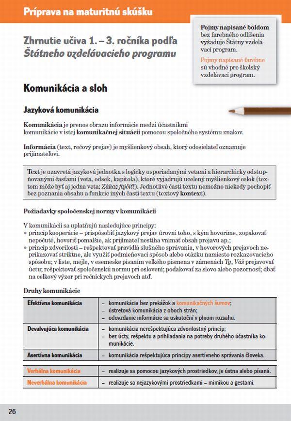 Náhľad: Slovenský jazyk 4 - Cvičebnica (7)
