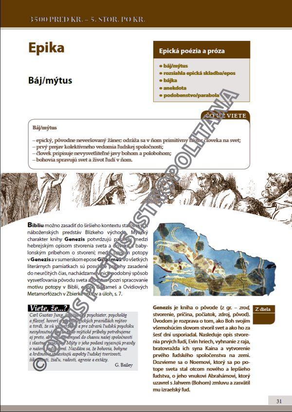 Náhľad: Literatúra 1 - Učebnica (4)