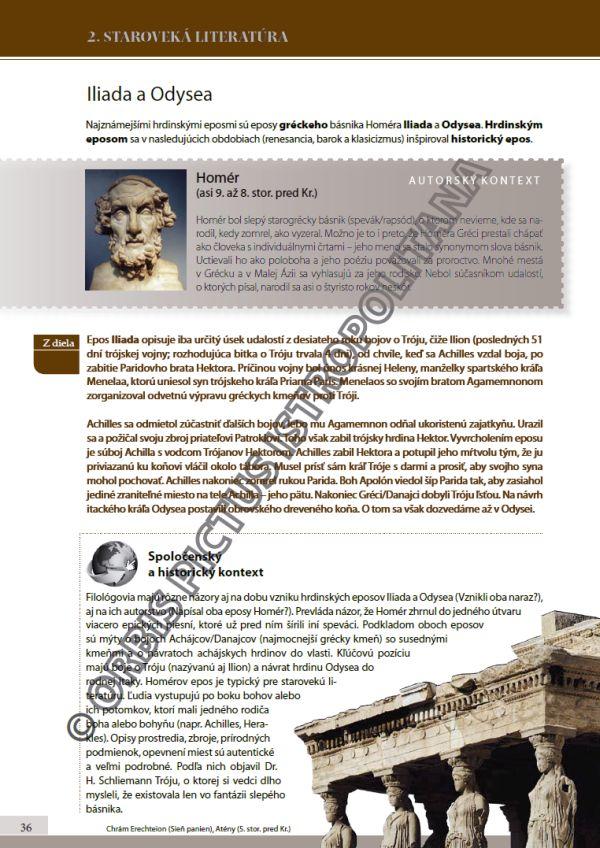 Náhľad: Literatúra 1 - Učebnica (5)
