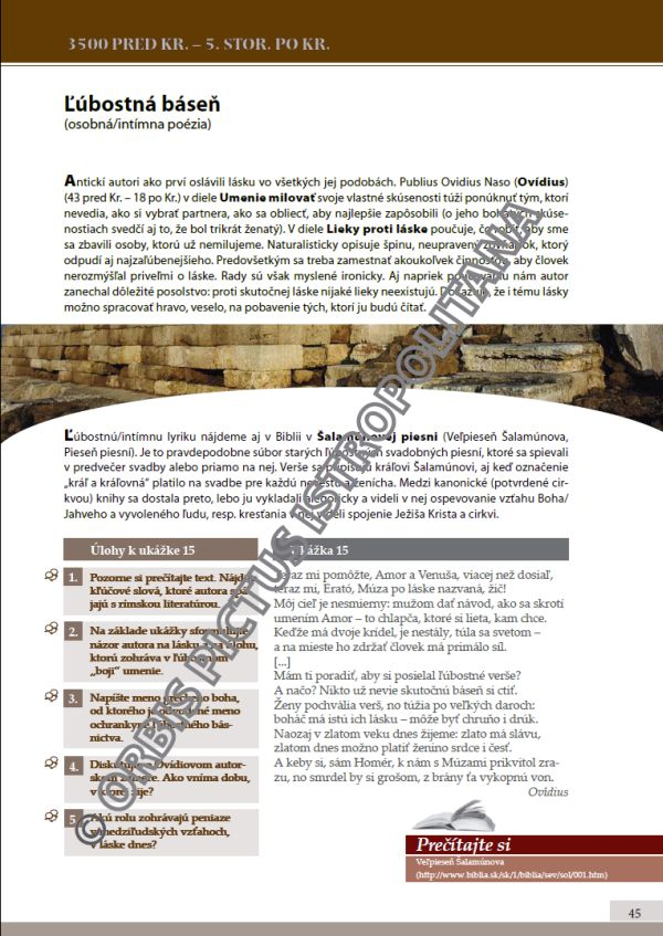 Náhľad: Literatúra 1 - Učebnica (6)