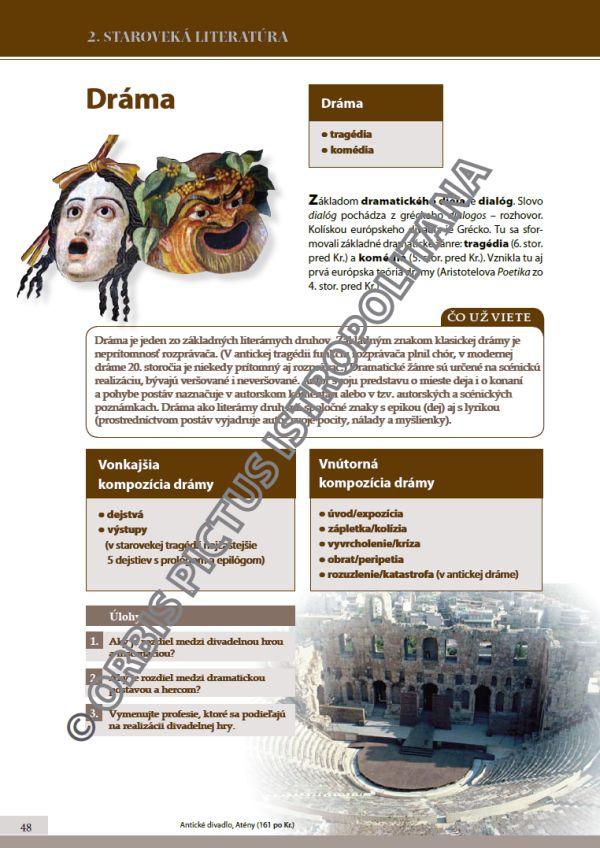 Náhľad: Literatúra 1 - Učebnica (7)