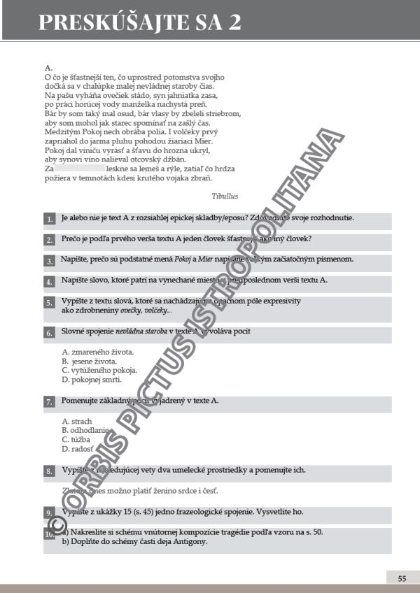 Náhľad: Literatúra 1 - Učebnica (8)