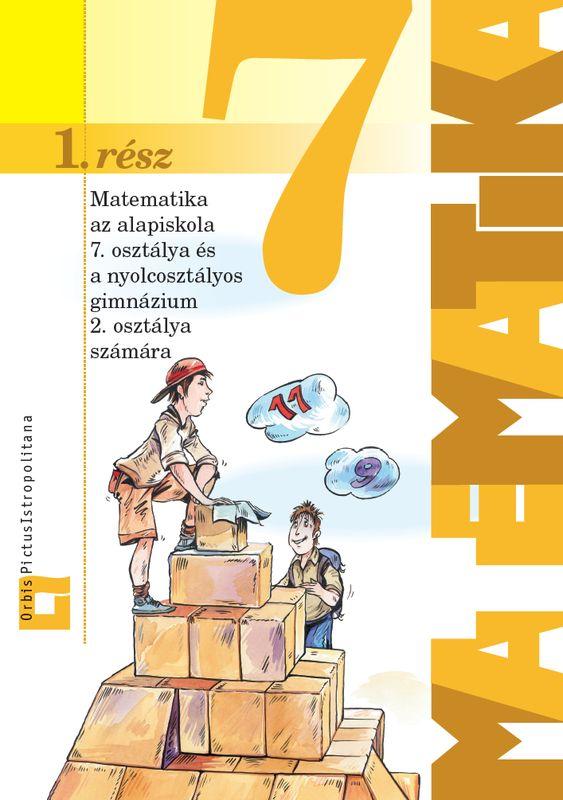 Náhľad: Matematika 7 - 1. časť učebnica - maďarská mutácia