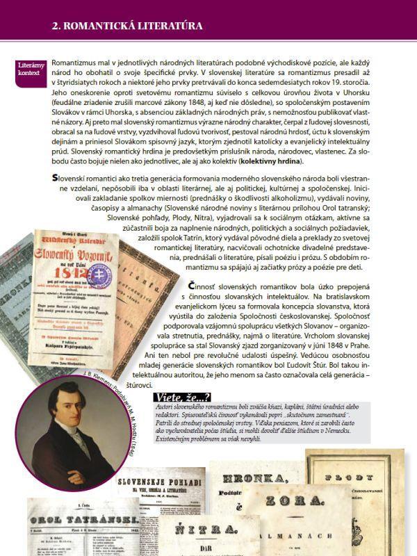 Náhľad: Literatúra 2 - Učebnica (3)