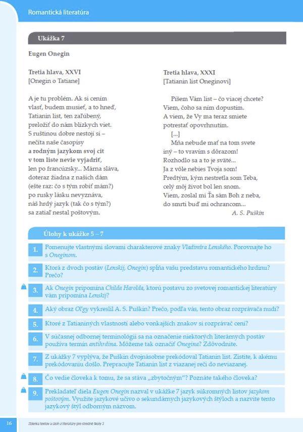 Náhľad: Zbierka textov a úloh z literatúry 2 (5)