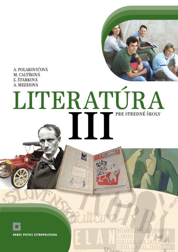 Náhľad: Literatúra 3 - Učebnica