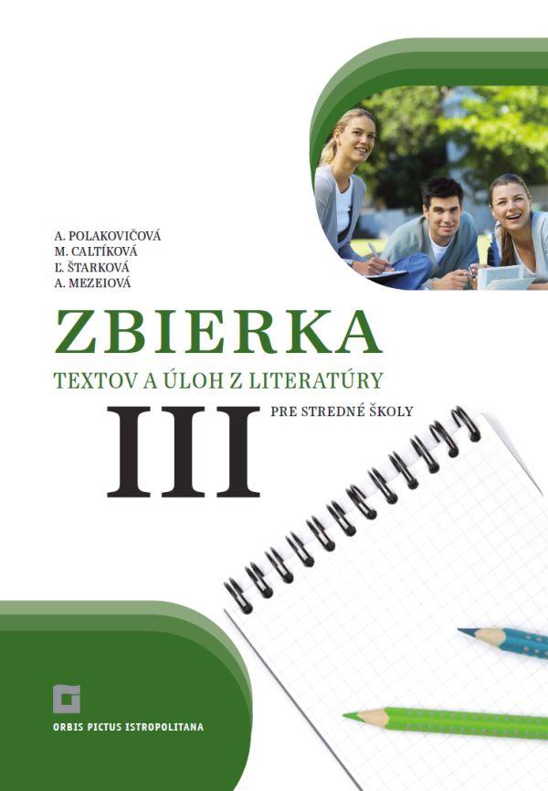 Náhľad: Zbierka textov a úloh z literatúry 3