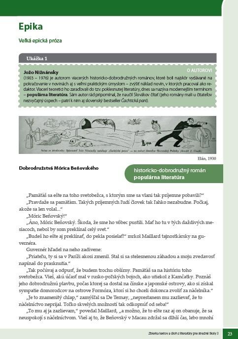 Náhľad: Zbierka textov a úloh z literatúry 3 (4)