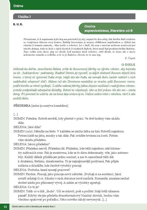Náhľad: Zbierka textov a úloh z literatúry 3 (7)