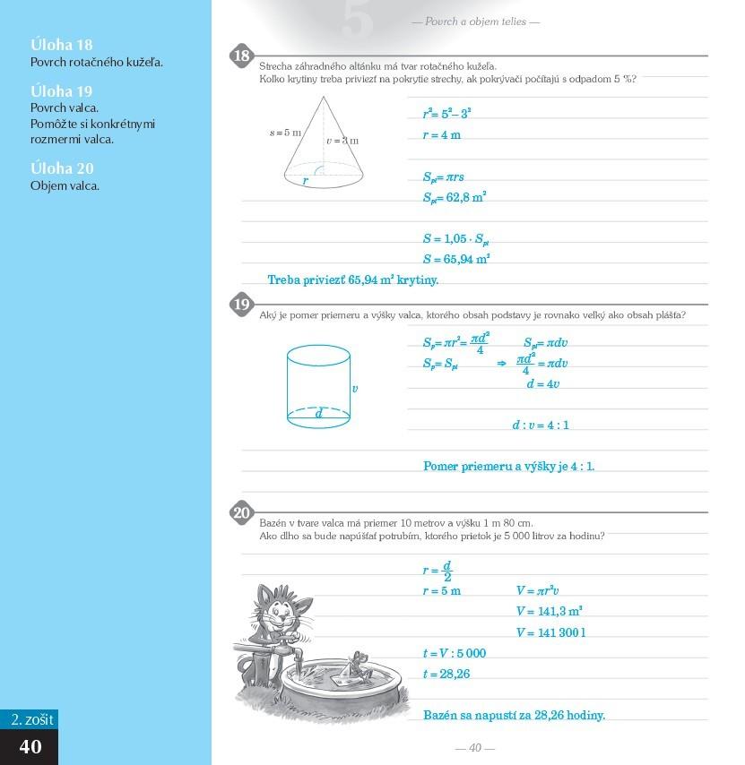 Náhľad: Zošit pre učiteľa - Pomocník z matematiky 9 (6)