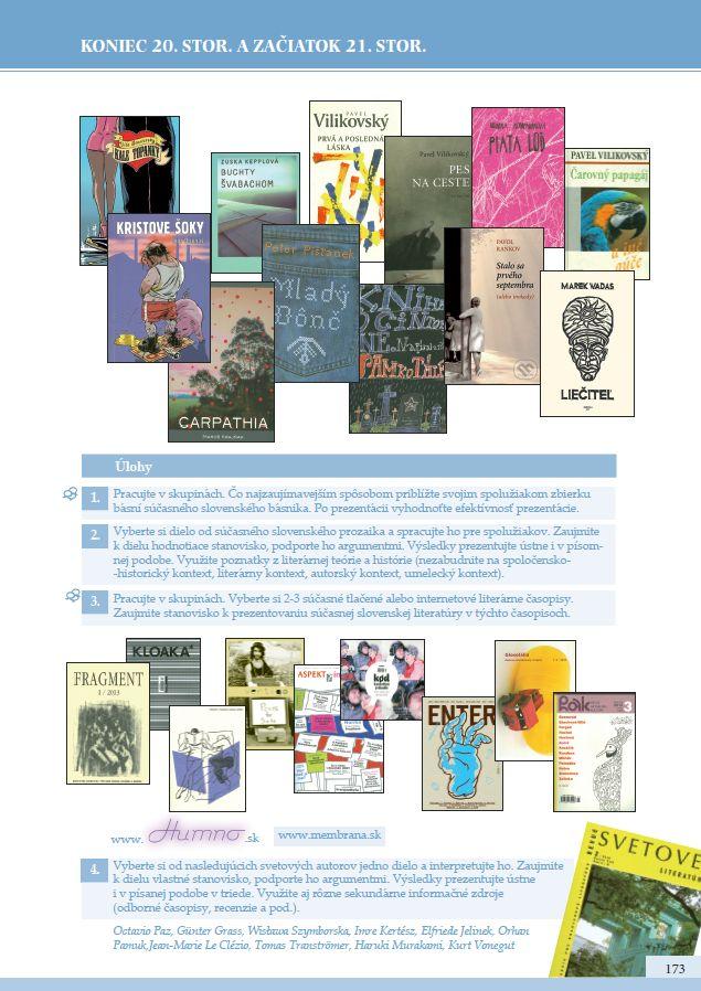 Náhľad: Literatúra 4 - Učebnica (11)