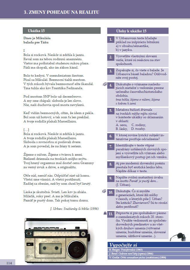 Náhľad: Literatúra 4 - Učebnica (8)