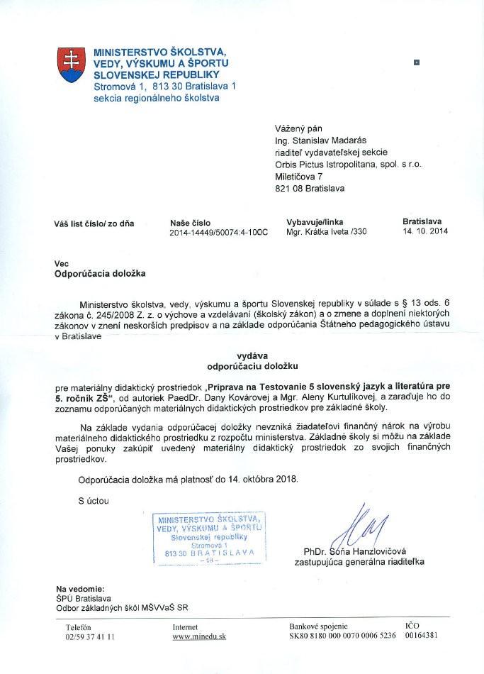 Náhľad: Príprava na Testovanie 5 – slovenský jazyk a literatúra (6)