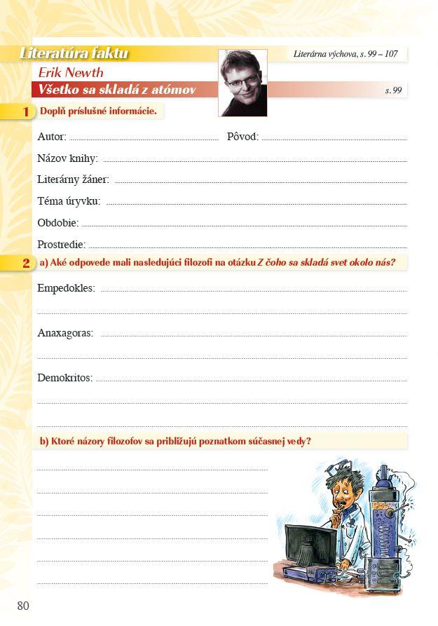 Náhľad: Pomocník z literatúry 8 ZŠ a 3 GOŠ (7)