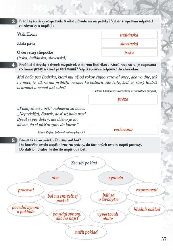 Náhľad: Zošit pre učiteľa - Pomocník z literatúry 5 ZŠ (5)