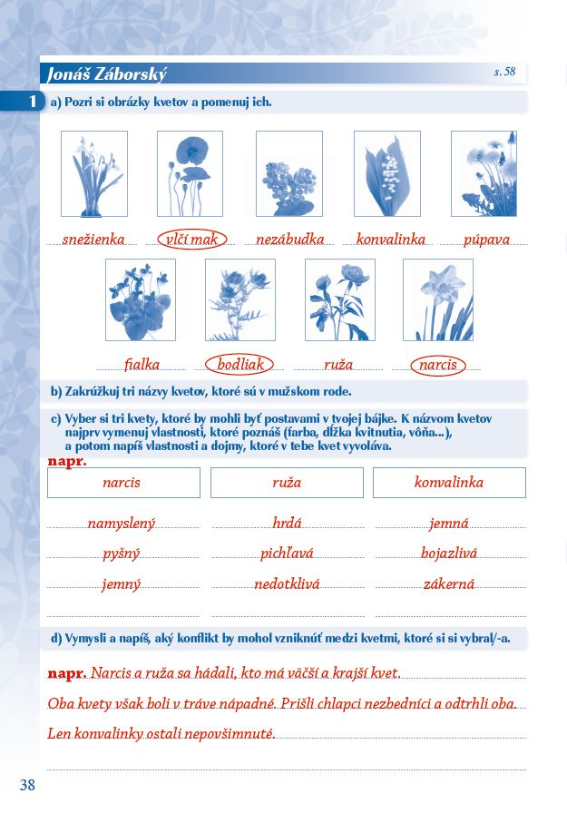 Náhľad: Zošit pre učiteľa - Pomocník z literatúry 6 ZŠ a 1 GOŠ (4)
