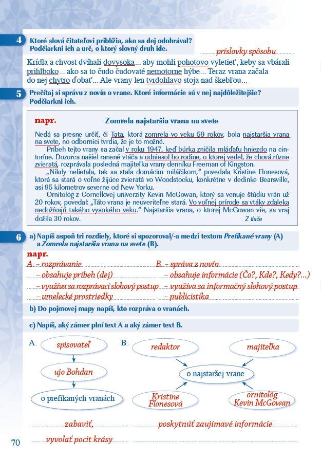 Náhľad: Zošit pre učiteľa - Pomocník z literatúry 6 ZŠ a 1 GOŠ (6)